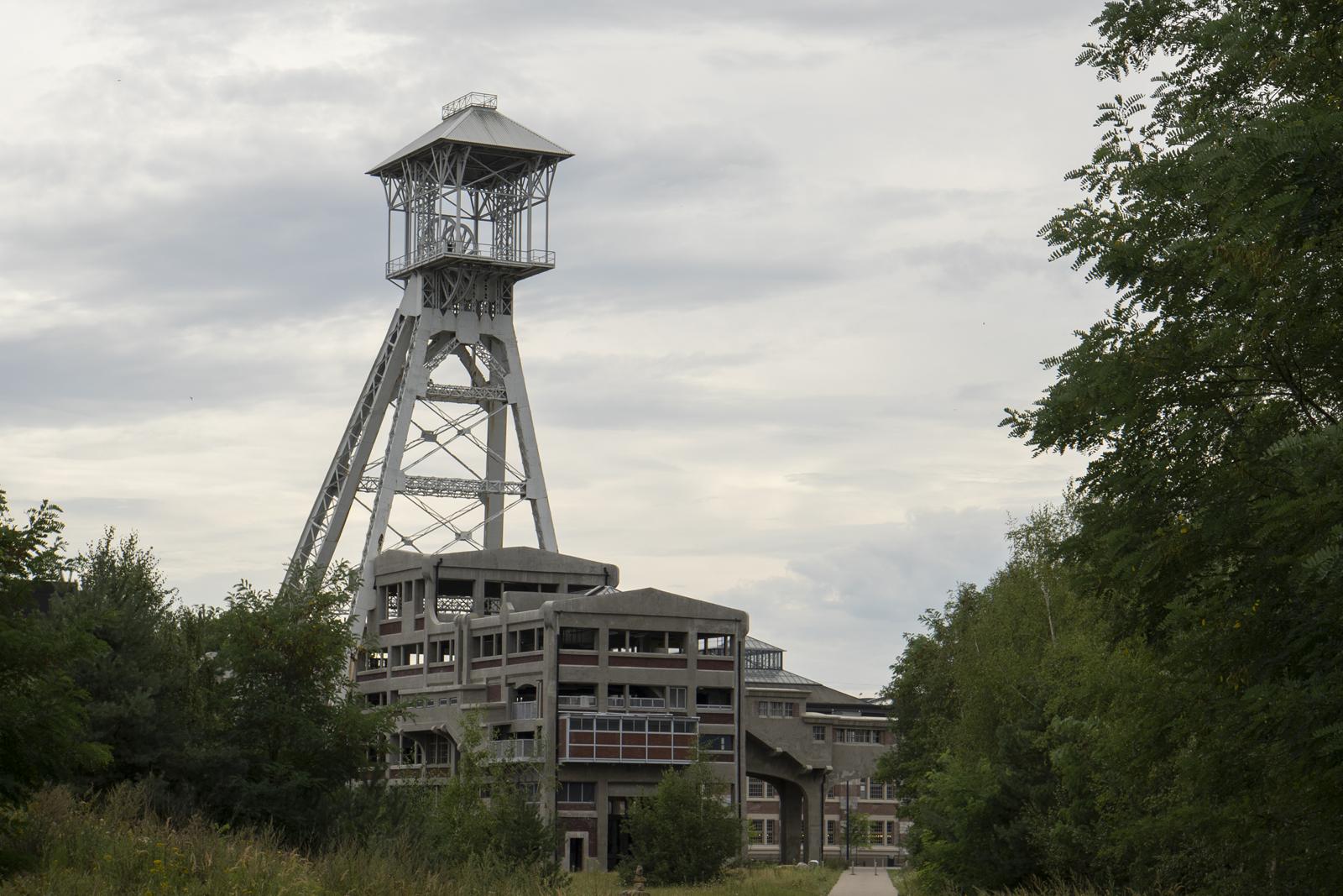 Waterschei, oude steenkoolmijn